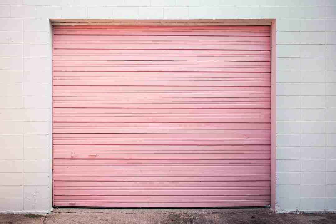 Comment isoler sa porte de garage