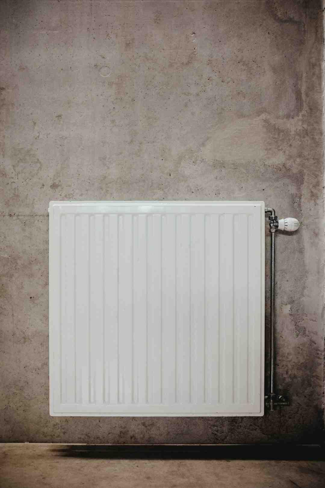 Comment régler radiateur électrique sans thermostat